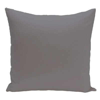 Merauke Throw Pillow Color: Gray