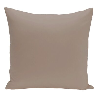 Merauke Throw Pillow Color: Flax