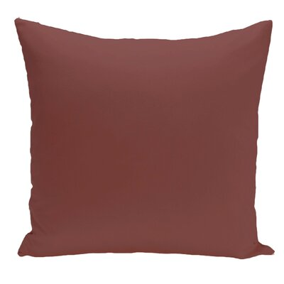 Merauke Throw Pillow Color: Brown