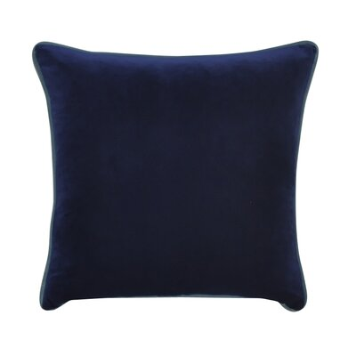 Douglas Forge Throw Pillow Color: Dark Blue