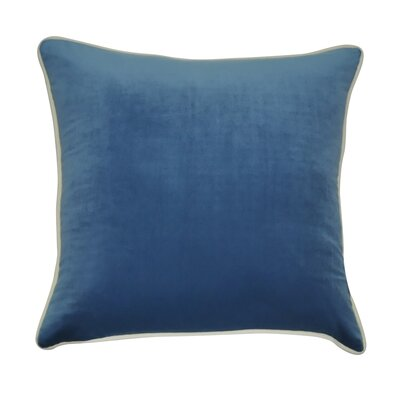 Douglas Forge Throw Pillow Color: Blue