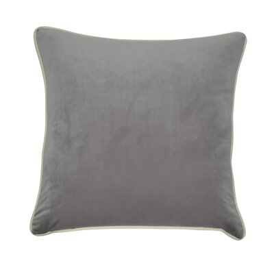 Douglas Forge Throw Pillow Color: Gray