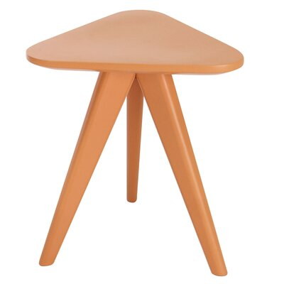 Annadale End Table Finish: Orange Lacquer