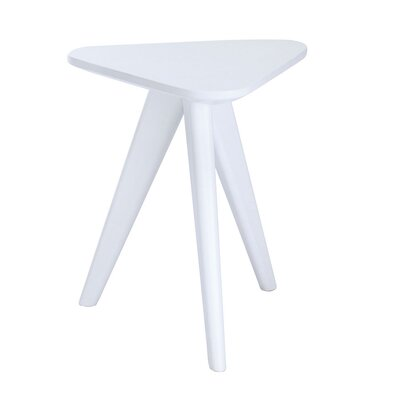 Annadale End Table Color: White Lacquer