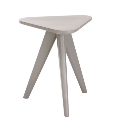 Annadale End Table Finish: Grey Lacquer
