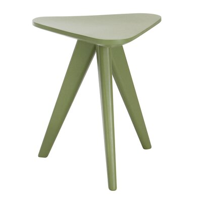 Annadale End Table Finish: Green Lacquer