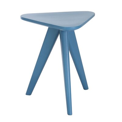 Annadale End Table Finish: Blue Lacquer