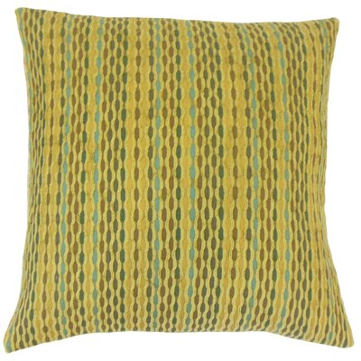 Dandenong Caroun Throw Pillow Color: Kelp, Size: 20 x 20