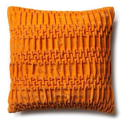 Brayden Studio Longwood Track Cotton Velvet Throw Pillow