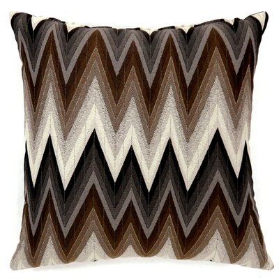 Wolbert Chevron Throw Pillow Size: Small