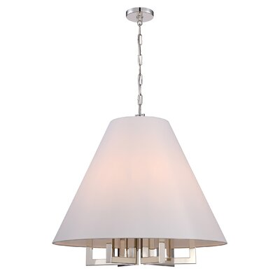 Longley 6-Light Mini Pendant Size: 97 H x 28 W x 28 D