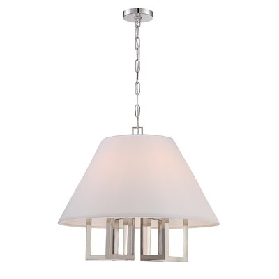 Longley 6-Light Mini Pendant Size: 92 H x 24 W x 24 D