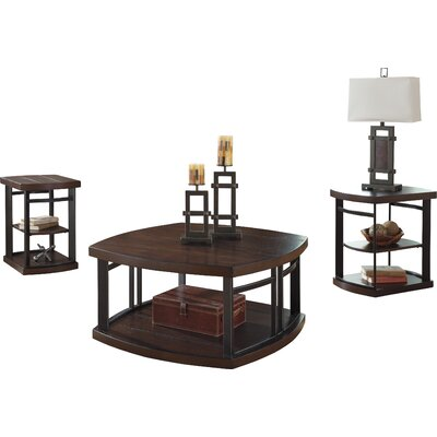 Mckenzie 3 Piece Coffee Table Set