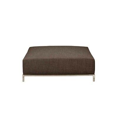 Lakehurst Modern Ottoman Upholstery: Brown
