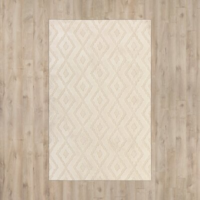 Nickson Cream Area Rug Rug Size: 8' x 10'