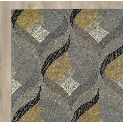 Brayden Studio Louane Hand-Tufted Gray Area Rug