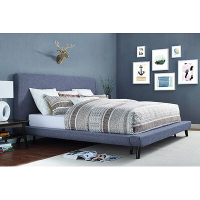 Agatha Upholstered Platform Bed Size: Queen