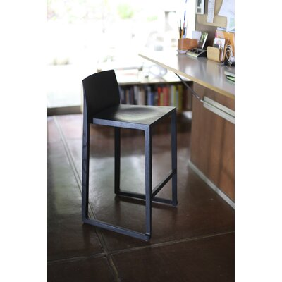 Fairlawn 25.5 Bar Stool Finish: Black