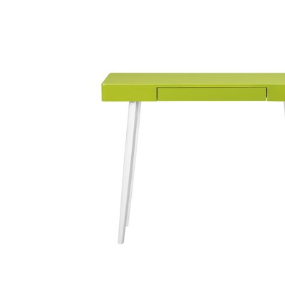 Loughlin Console Table Top Finish: Green