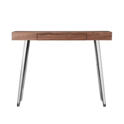Loughlin Console Table Top Finish: Walnut