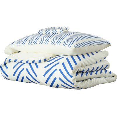 Flemings Nautical Lines Duvet Cover Set