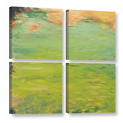 Ringwood 4 Piece Painting Print on Wrapped Canvas Set