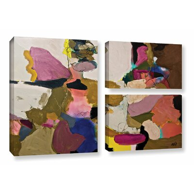 Stage Left 3 Piece Painting Print on Wrapped Canvas Set