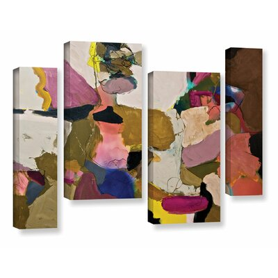 Stage Left 4 Piece Painting Print on Wrapped Canvas Set Size: 24