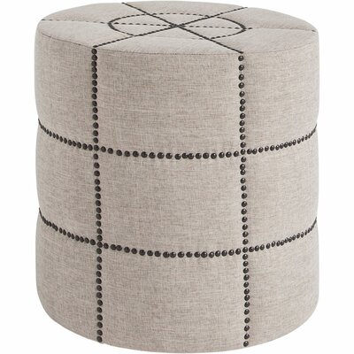 Capricorn Ottoman Finish: Gray/Black