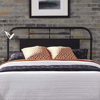 Chambers Open-Frame Headboard Finish: Black, Size: Full
