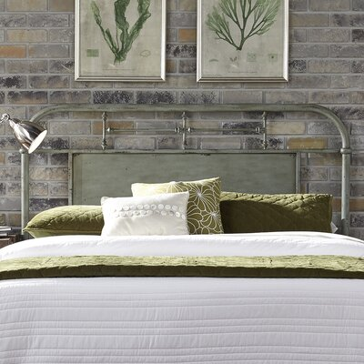 Chambers Open-Frame Headboard Finish: Green, Size: Queen