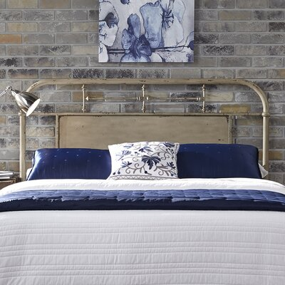 Chambers Open-Frame Headboard Size: King, Finish: Vintage White