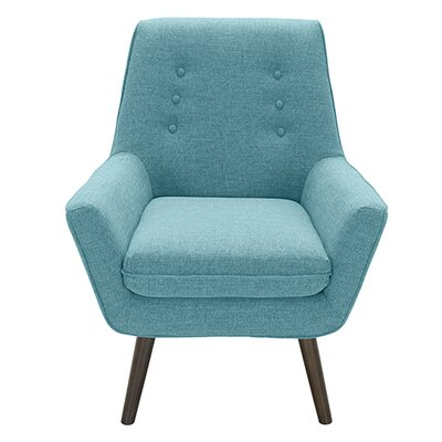 Castlewood Armchair Color: Teal