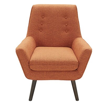 Castlewood Armchair Upholstery: Orange