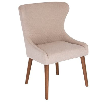 Causeway Side Chair Upholstery: Cream