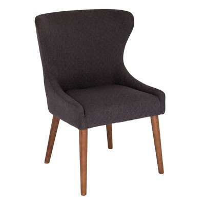Causeway Side Chair Upholstery: Grey