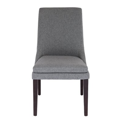 Cebes Side Chair Upholstery: Gray