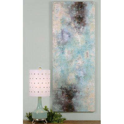 Daybreak Abstract Art Painting Print on Canvas