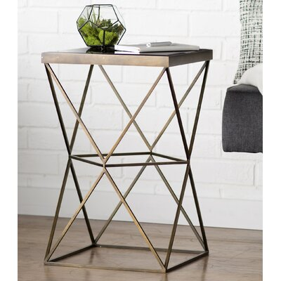 Bremond Block Frame End Table