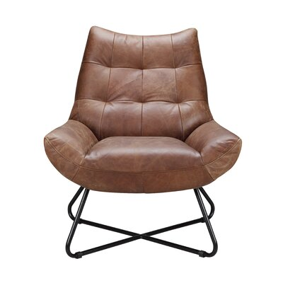 Chaplin Lounge Chair Color: Cappuccino