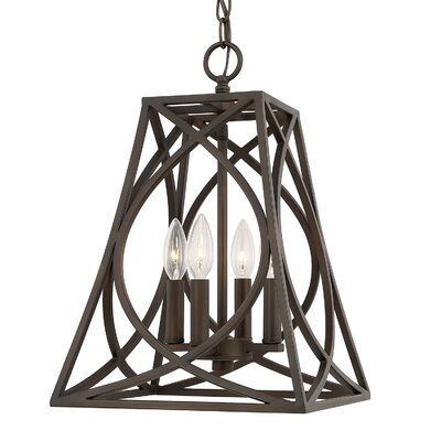 Charis 4-Light Foyer Pendant