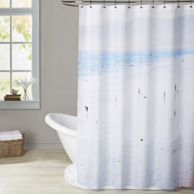Mina Teslaru Santa Monica Shower Curtain