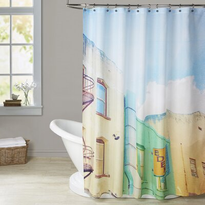 Mina Teslaru San Francisco Tops 1 Shower Curtain
