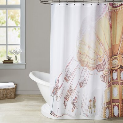 Mina Teslaru Rides Shower Curtain