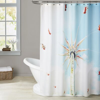 Mina Teslaru Spin Shower Curtain BRSD5095 27163111