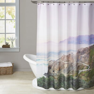 Mina Teslaru Sutro Baths Shower Curtain