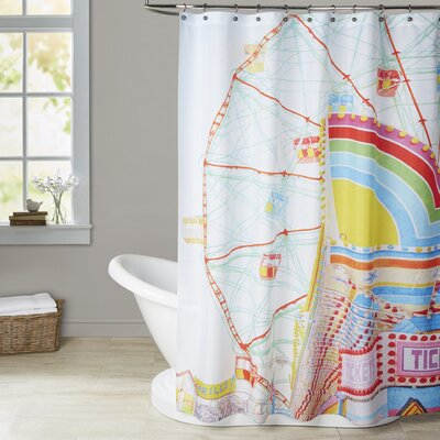 Mina Teslaru Thrills Shower Curtain