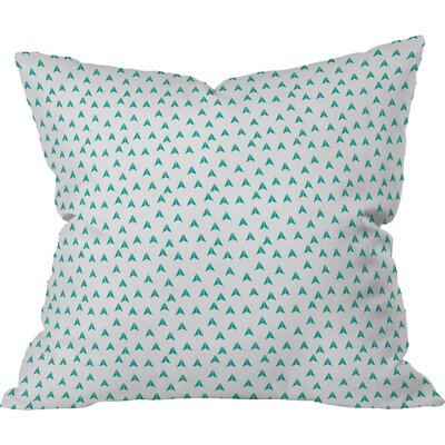 Mullet Indoor/Outdoor Throw Pillow Size: 18 H x 18 W x 5 D, Color: Blue