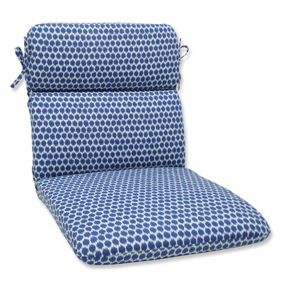 Eris Outdoor Chair Cushion Fabric: Navy