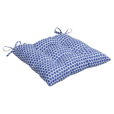 Eris Outdoor Seat Cushion Fabric: Navy